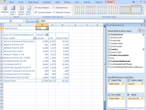 Blue Link Pivot Table Example